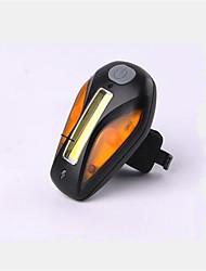 Eclairage de Vélo / bicyclette Lampe Arrière de Vélo Cyclisme Rechargeable Taille Compacte Couleurs changeantes AntidérapantUSB Pile au