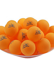 100pcs 3 Stars Table Tennis Ball White Orange Indoor Practise Leisure Sports