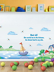 Cartoon Wall Sticker Vinyl Material Home Decoration Children's Room