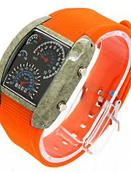 Hot New Han Edition Fashion Don't Rub Off The LED Panel Lovers Watch