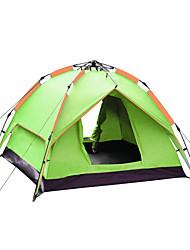 3-4 человека Световой тент Двойная Семейные палатки Однокомнатная Палатка 1500-2000 мм ПолиэстерВодонепроницаемый Воздухопроницаемость