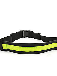 Safety Lights LED Running Armband Running Waist Belt Compact Size Safety for Camping/Hiking/Caving Cycling/Bike Climbing Outdoor-Green