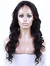 Brazilian Virgin Human Hair 360 Lace Frontal Wigs Loose Wave 360 Lace Wig With Baby Hair