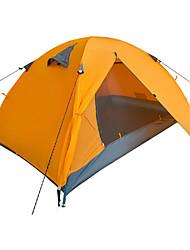 YUNYI® 3-4 Personen Zelt Doppel Zelte für Rucksackreisen Einzimmer Camping Zelt 2000-3000 mmWasserdicht Atmungsaktivität Staubdicht