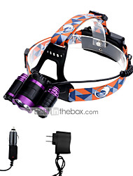 U'King Headlamps LED Lumens 3 Mode Cree XM-L T6 Batteries not included Adjustable Focus Easy Carrying for Camping/Hiking/Caving Everyday