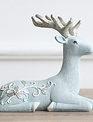 Animals Polyresin Modern/Contemporary CountryGifts Indoor Decorative Accessories  European Elk Ornaments