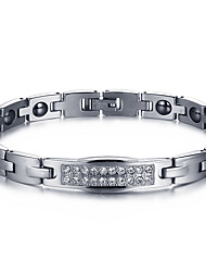 Chain Bracelet Costume Jewelry Magnetic Therapy Fashion Titanium Steel Jewelry Jewelry For Gift Valentine