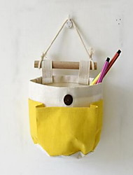 Storage Bags Storage Baskets Textile withFeature is Open  For Cloth DIY Combination of Cotton And Linen Bag