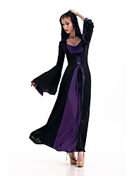 Victorian Halloween Costumes Women Hoodie Witch Costume Adult Long Dress Princess Cosplay Costumes Women Witch Costume Uniform