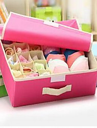 Storage Boxes Textile withFeature is Lidded  For Underwear Storage Box