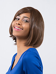 Lovely  Attractive Dark Brown BOBO Suitable For All Kinds Of People Synthetic Wig