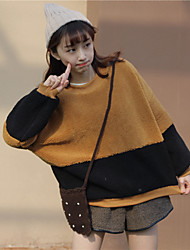 Students loaded hedging spell color lambs wool sweater real shot