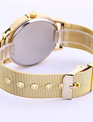 Fashion Watch Quartz Alloy Band Gold
