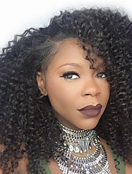 Kinky Curly Wig Lace Front Wigs Unprocessed Brazilian Virgin Human Hair Lace Front Curly Wig For Women
