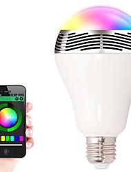 бл-05 Беспроводная связь Bluetooth 4.0 колонки RGB LED цвет шарика изменяя умный свет водить аудио динамик для Иос / Android / таблетки