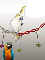 Bird Perches & Ladders Metal Multi-Color