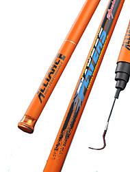 Fishing Rod Telespin Rod Carbon steel 450 M General Fishing Rod Orange