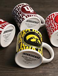 sport emblème du club souvenir tasses, 340 ml ligues américaines fans tasse en céramique
