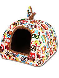 Cat Dog Bed Pet Mats & Pads Cartoon Casual/Daily Rainbow