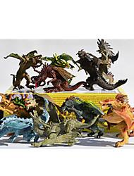 Figurines d'Action & Animaux en Peluche Modèle d'affichage Maquette & Jeu de Construction Dinosaure Plastique Arc-en-ciel