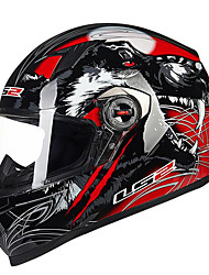 LS2 FF358 Motorcycle Full Helmet ABS Material EPS Buffer PC Lens Unisex
