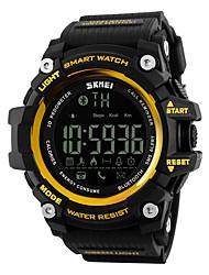 SKMEI Pánské Dámské Sportovní hodinky Chytré hodinky Náramkové hodinky DigitálníLCD Dálkové ovládání Kalendář Voděodolné poplach Krokoměr