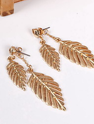 Non Stone Earrings Set Jewelry Daily Casual Alloy 1 pair Yellow Gold