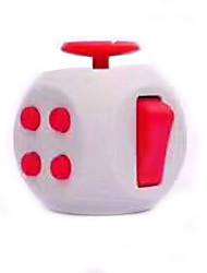 Игрушка Fidget Desk Fidget Cube Игрушки Квадратный EDCФокусная игрушка Сбрасывает СДВГ, СДВГ, Беспокойство, Аутизм Товары для офиса За
