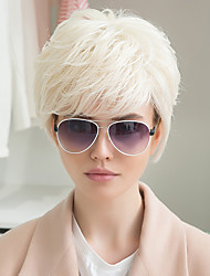 New Pattern Attractive Temperament woman  Human Hair Wig