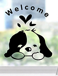 Mi Dog Switch Post Toilet Laptop Mobile Phone Stickers Wall Stickers23*27Cm