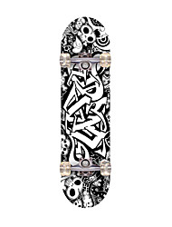 Standard Skateboards Professional ABEC-7-Black National Flag