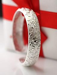 Bracelete Moda Prata de Lei Jóias Jóias Para 1peça