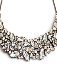 Women's Statement Necklaces Jewelry Gemstone Alloy Jewelry Fashion Personalized Euramerican White JewelryParty Special Occasion