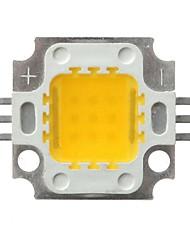 10W Focos de LED 1 COB 850-900 lm Branco Quente Branco Frio Decorativa DC 12 DC 24 V 1 pç