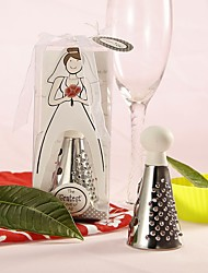 Bride to be Bridal Dress Stainless-Steel Cheese Grater Practical Kitchen Favors
