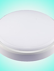 12 Flush Mount ,  Modern/Contemporary Others Feature for LED Plastic Bathroom Study Room/Office Kids Room Outdoors Garage