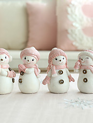 Animals Holiday Polyresin Modern/Contemporary CountryGifts Indoor Decorative Accessories European Snowman Ornaments