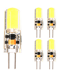 5Pcs G4 1505 Cob DC 12 v 3W 650 lm High Quality Double Needle Waterproof Glue Lamp