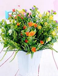 1 Ast Kunststoff andere Tisch-Blumen Künstliche Blumen 25*25*32