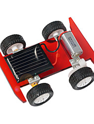 Brinquedos Para meninos Brinquedos de Descoberta Brinquedos a Energia Solar Carro Metal Plástico Vermelho