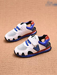 sandales confort similicuir décontracté en plein air de course rouge bleu