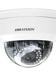 HIKVISION® DS-2CD2152F-IS 5MP Fixed Dome IP Camera (Audio/Alarm IO 30m IR IP66 Waterproof IK10 Digital WDR DC12V & PoE Reset Button)