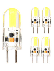 5PCS G6.35 1505 Cob AC DC 12 v 3W 650 lm Double Needle Waterproof Glue Dimmer Lamp