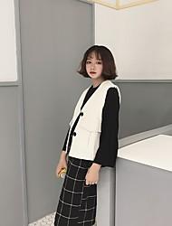 Sign ~ Spring Korean wild retro corduroy vest jacket