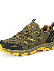 CAMEL Hiking Shoes Mountaineer Shoes Men's Anti-Slip Anti-Shake/Damping Breathable Wearable Outdoor Lace-up Low-TopLeatherette Breathable