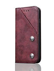 Second Layer Genuine Leather Flip Phone Cases Cover for iPhone 7 Plus 7 6s Plus 6 Case Card Holder
