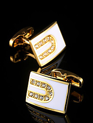 New Luxury Shirt Cufflinks for Mens Brand Cuff Buttons French Cuff links Gold Gemelos Men's Cuffs Wedding Jewelry