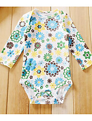 Baby Rainbow One-Pieces,Polyester Summer Long Sleeve