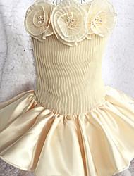 Chat Chien Robe Smoking Vêtements pour Chien Eté Printemps/Automne PrincesseMignon Mariage Anniversaire Vacances Mode Décontracté /