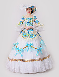 Steampunk®  Marie Antoinette Masquerade Victorian Queen Ball Gown Wedding Dress Reenactment Theater Rococo Dresses